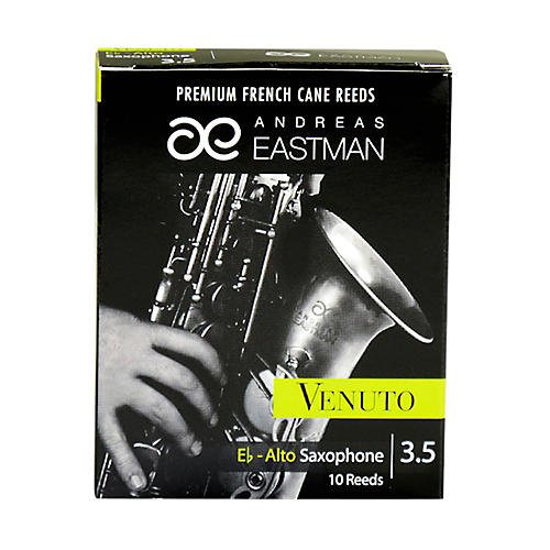 Andreas Eastman Venuto Alto Saxophone Reeds Strength 3.5 Box of 10