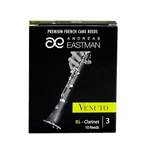 Andreas Eastman Venuto Bb Clarinet Reeds Strength 3 Box of 10