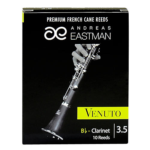 Andreas Eastman Venuto Bb Clarinet Reeds Strength 3.5 Box of 10