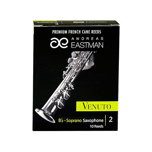Andreas Eastman Venuto Soprano Saxophone Reeds Strength 2 Box of 10