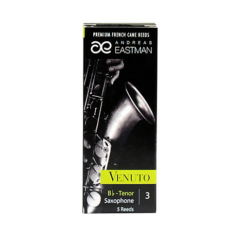 Andreas Eastman Venuto Tenor Saxophone Reeds Strength 3 Box of 5