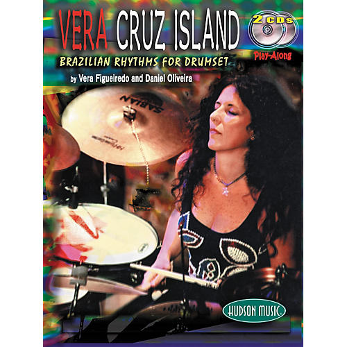 Hudson Music Vera Cruz Island: Brazilian Rhythms for Drumset (Book/2-CD Set)-thumbnail