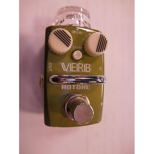 Hotone Effects Verb Digital Reverb Skyline Series Effect Pedal-thumbnail