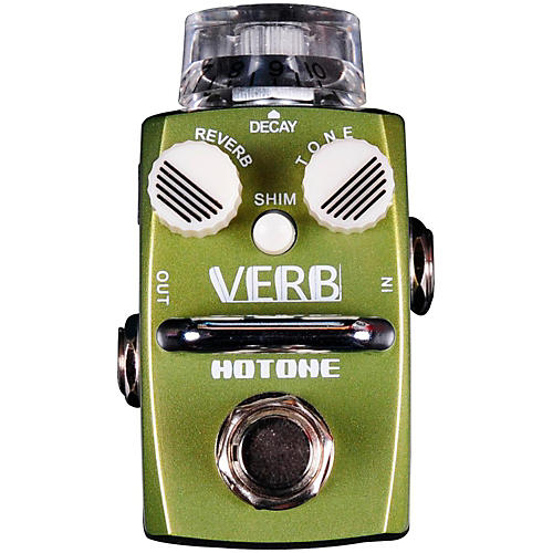 Hotone Effects Verb Digital Reverb Skyline Series Guitar Effects Pedal-thumbnail