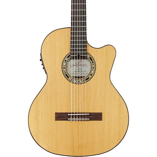 Kremona Verea Cutaway Acoustic-Electric Nylon Guitar-thumbnail