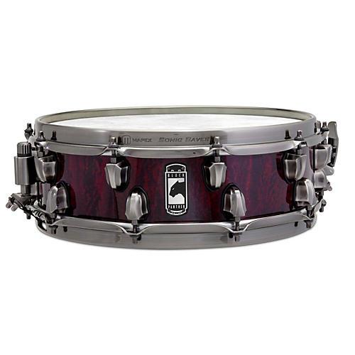 Mapex Versatus Russ Miller Artist Inspired Black Panther Snare Drum 14 x 4.5 in.