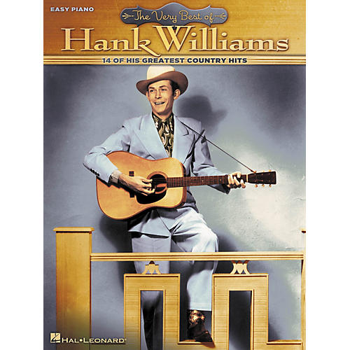 Hal Leonard Very Best Of Hank Williams For Easy Piano-thumbnail