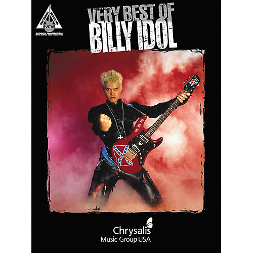 Hal Leonard Very Best of Billy Idol Guitar Tab Book
