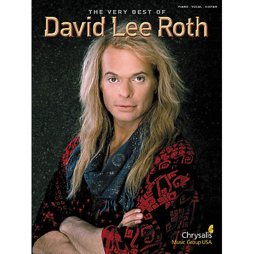 Hal Leonard Very Best of David Lee Roth Piano/Vocal/Guitar Artist Songbook
