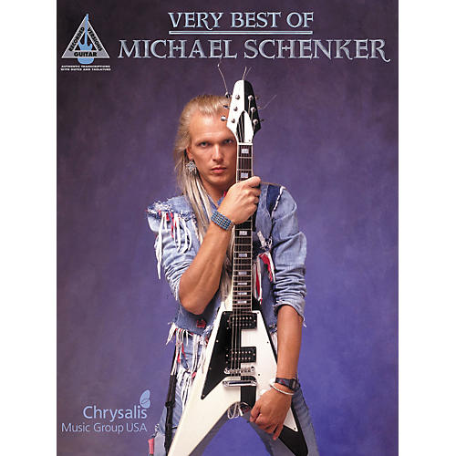 Hal Leonard Very Best of Michael Schenker Guitar Tab Songbook-thumbnail