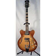 Hofner Verythin Standard Ct Bigsby Hollow Body Electric Guitar