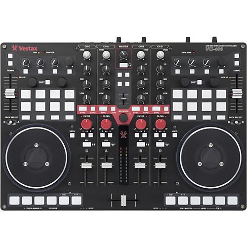 Vestax Vestax VCI-400 DJ Controller includes Serato DJ Intro
