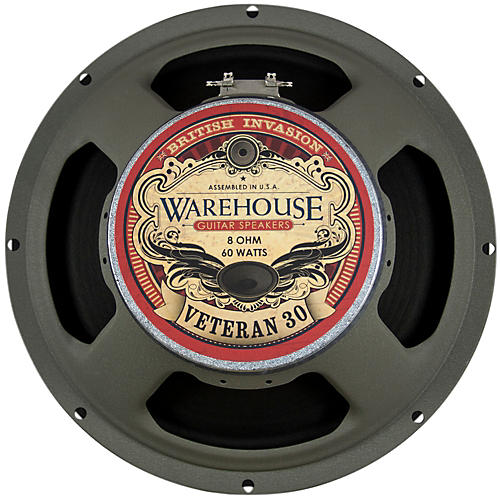 Warehouse Guitar Speakers Veteran 30 12