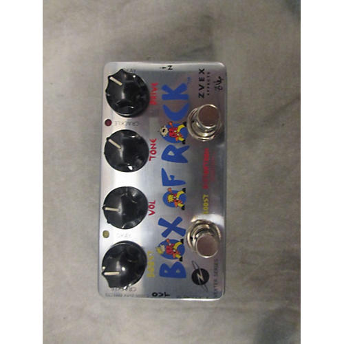 Zvex Vexter Box Of Rock Distortion Boost Effect Pedal