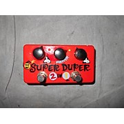 Zvex Vexter Super Duper 2 In 1 Overdrive Effect Pedal