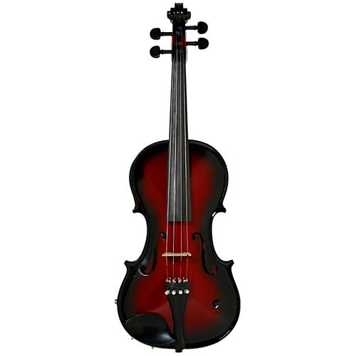 Barcus Berry Vibrato-AE Series Acoustic-Electric Violin Passion Pink-thumbnail