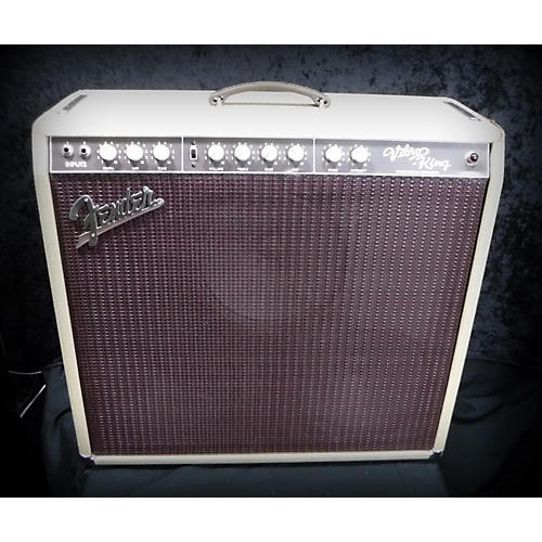 Fender Vibro King 60W 3X10 Tube Guitar Combo Amp-thumbnail