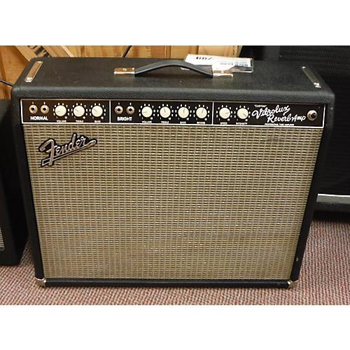 Fender Vibrolux Reverb 40W 2x10 Tube Guitar Combo Amp-thumbnail
