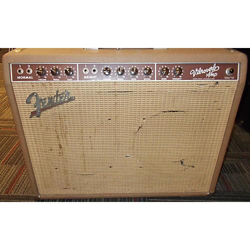 Fender Vibroverb 40W 2x10 Tube Guitar Combo Amp-thumbnail