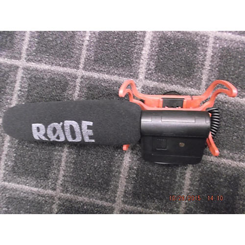 Rode Microphones Videomic With Rycote Lyre Mount Ribbon Microphone