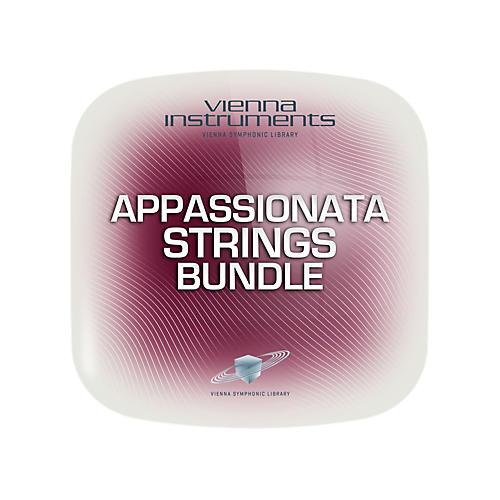 Vienna Instruments Vienna Appassionata Strings Bundle Standard Software Download
