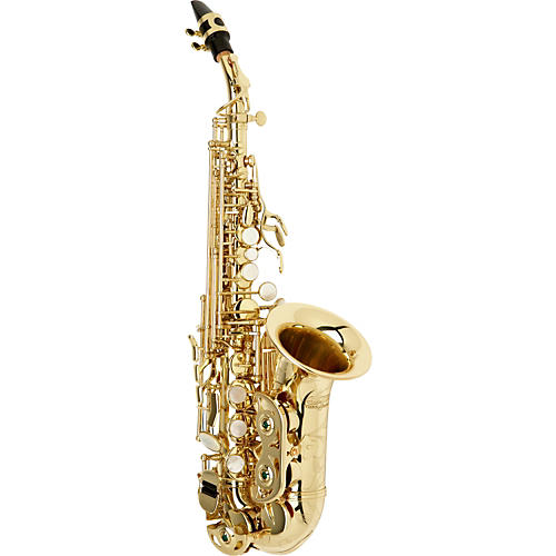 Allora Vienna Series Intermediate Curved Soprano Saxophone AASC-503 - Lacquer