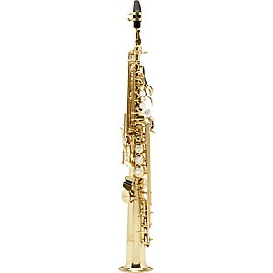 Allora Vienna Series Intermediate Straight Soprano Saxophone with Two Necks by Allora