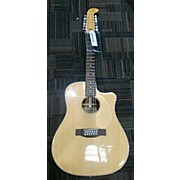 Fender Villager SCE 12 String Acoustic Electric Guitar