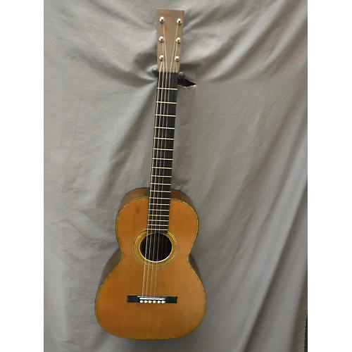 In Store Vintage Vintage 1890s Stetson Parlor Spruce / Brazilian Rosewood Acoustic Guitar