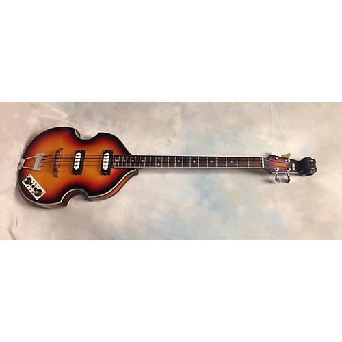 In Store Vintage Vintage 1960s Apollo Vox Apollo Sunburst Electric Bass Guitar