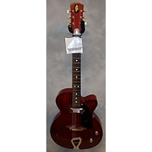 Vintage 1962 Julio Giulietti A2 Red Hollow Body Electric Guitar