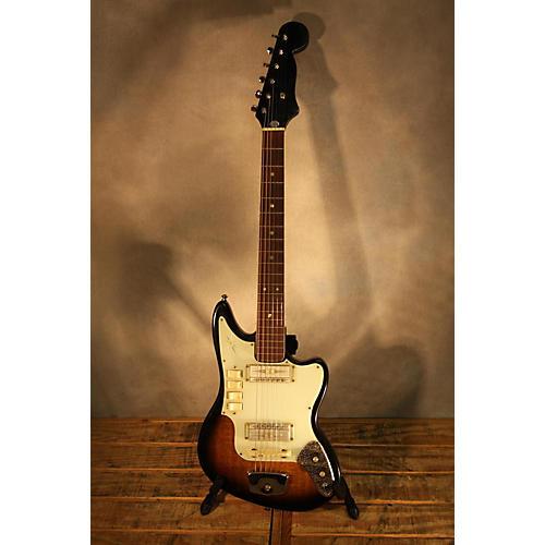 In Store Vintage Vintage 1962 Zen-On 1400 Sunburst Solid Body Electric Guitar-thumbnail
