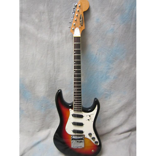 In Store Vintage Vintage 1970s Aria Diamond Guitar Sunburst Solid Body Electric Guitar-thumbnail