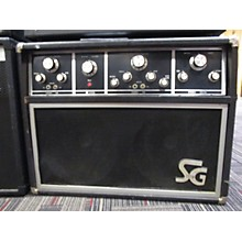 Vintage 1970s CMI SG Systems SG-209 Black And Silver Tube Guitar Combo Amp