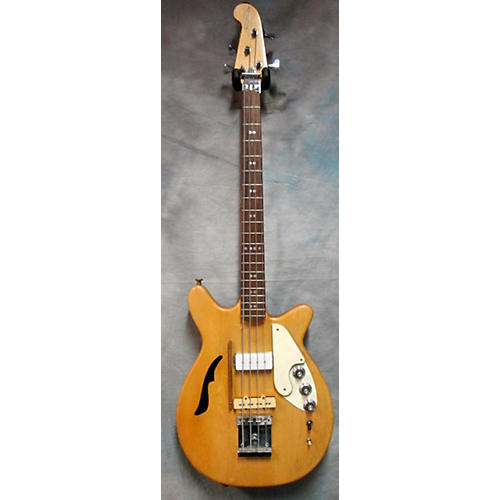 In Store Vintage Vintage 1970s Microfrets Stage II OHSC Natural Electric Bass Guitar-thumbnail