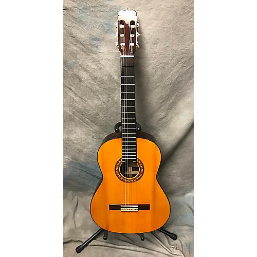In Store Vintage Vintage 1976 Yairi 880 Classical OHSC Natural Classical Acoustic Guitar-thumbnail