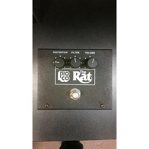Pro Co Vintage 1991 The Rat Distortion Effect Pedal