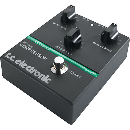 TC Electronic Vintage Compressor Guitar Effect Pedal