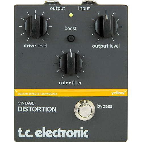 TC Electronic Vintage Distortion Guitar Effect Pedal-thumbnail