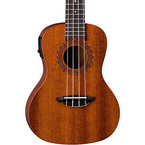 Luna Guitars Vintage Mahogany Concert Acoustic-Electric Ukulele-thumbnail