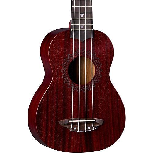Luna Guitars Vintage Mahogany Soprano Ukulele-thumbnail