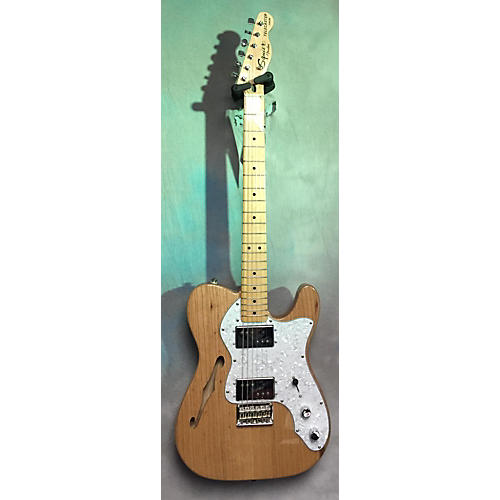 Squier Vintage Modified 72 Thinline Telecaster Hollow Body Electric Guitar-thumbnail
