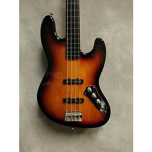 Squier Vintage Modified Fretless Jazz Bass Electric Bass Guitar-thumbnail