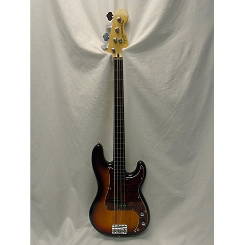 Squier Vintage Modified Fretless Precision Bass Electric Bass Guitar-thumbnail