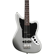 Vintage Modified Jaguar Bass Special SS (Short Scale) Rosewood Fretboard Silver