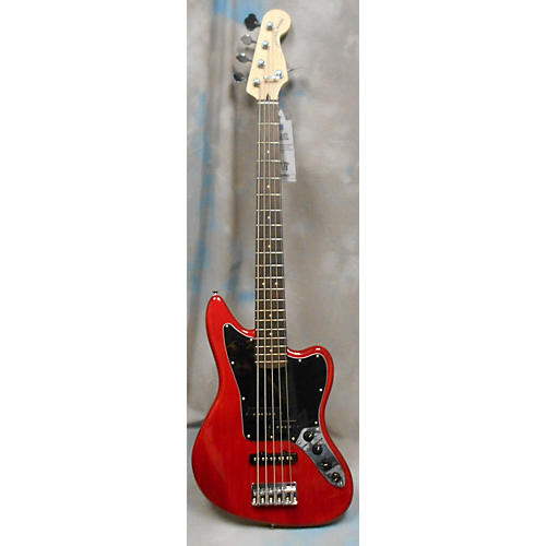 Squier Vintage Modified Jaguar Bass V 5 String Electric Bass Guitar