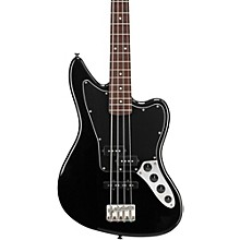 Vintage Modified Jaguar Electric Bass Guitar Special Black