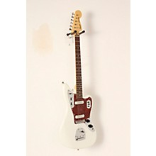 Vintage Modified Jaguar Electric Guitar Olympic White Rosewood Fingerboard
