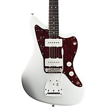 Vintage Modified Jazzmaster Electric Guitar Olympic White Rosewood Fingerboard