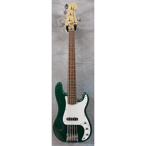 Squier Vintage Modified Precision Bass V Emerald Green Electric Bass Guitar